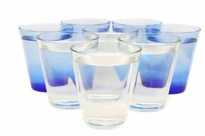 Eight glasses of water is way more than the average person needs in a day.
