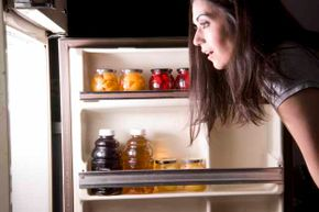 Something to make you feel better about late-night snacking: It's no worse than snacking during the day.
