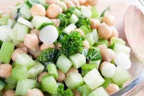 Pale vegetables like celery and onions still have a lot of nutrients.