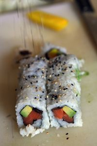 Want DHA but don't like fish? Eat sushi. It has fish in it and is delicious.