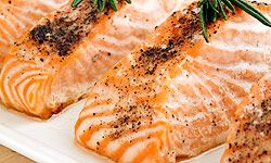 Many types of fish are rich in omega-3 fatty acids.