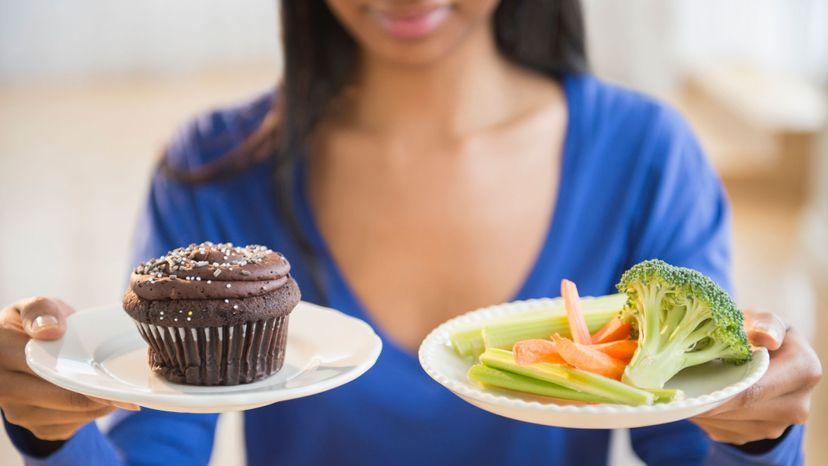 Telling people to do more of one thing and less of another tended to hinder weight loss, a study showed. JGI/Jamie Grill/Getty Images