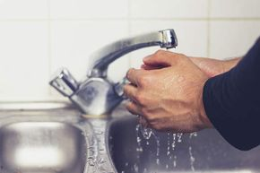 To get rid of germs, you should wash your hands for at least 20 seconds.