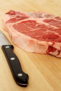 Follow some basic safety guidelines when handling raw meat or poultry.