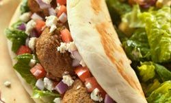 Falafels are the perfect grab-and-go foods.