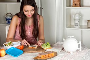 If you're taking your own lunch to work, be sure to keep the items in the fridge or use a freezer pack.