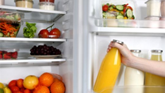 What is the ideal temperature for a refrigerator?