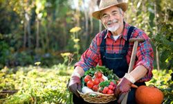 Many foodies start farming to grow better food.