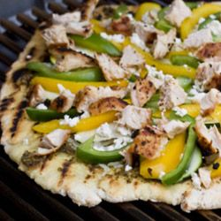 Think outside the oven. Put that pizza on the grill!