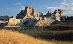 This park's wind-ravaged landscape of exposed stone makes it good hunting grounds for fossil seekers.