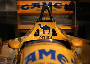 A Lotus-powered Formula One race car. See sports car pictures.