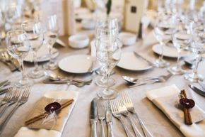 Formal dinners can be stuffy, but remember your manners - and why each piece of silverware is necessary.