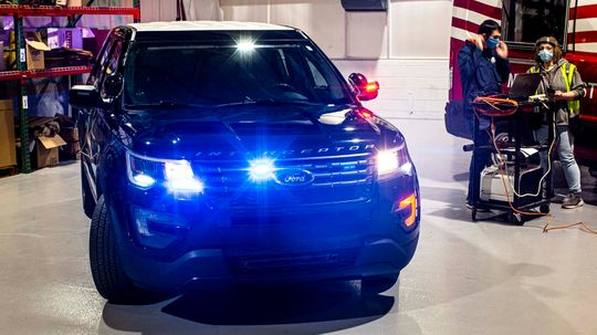 Ford Software Update Lets Cop Cars Cook Away Coronavirus with Heat