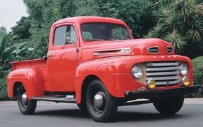 This 1948 Ford F-1 truck was one of the first of Ford's popular F-1 series of trucks. See more pictures of trucks.