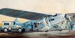 Ford's famous Tri-Motor classic airplane was adapted from the single-engine Stout Pullman, an innovative design by William Stout of the Stout Metal Airplane Company. The subsequent Tri-Motor was America's first all-metal, multi-engine aircraft. See more classic airplane pictures.