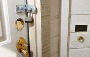 If you don't work with your lender, you could come home to a padlocked door.