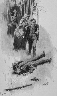 Several of Arthur Conan Doyle's Sherlock Holmes stories refer to dead bodies covered in insects.