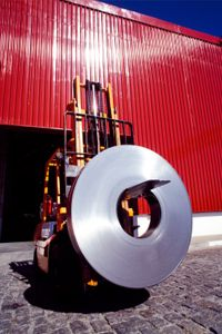 Forklifts can be outfitted with different attachments, such as for carrying barrels instead of lifting pallets, and each type of forklift class is designed for certain types of loads and specific working conditions.