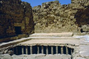 A c. fourth-century Roman bath came complete with a hypocaust beneath the floor of its hot room to keep Roman toes toasty warm.