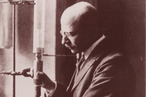 German chemist Fritz Haber invented the process for creating synthetic nitogen fertilizer.