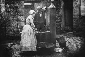 A cholera outbreak linked to London's Broad Street water pump helped give rise to the field of epidemiology.