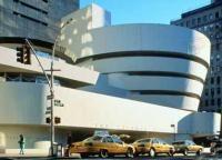 The Solomon R. Guggenheim Museum in Manhattan.