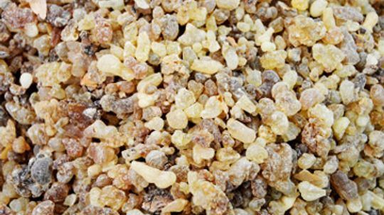 How does Frankincense work in skin cleansers?