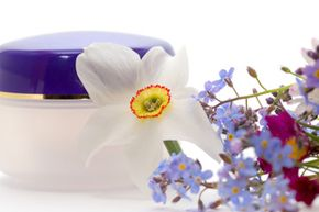 It may make your showering experience more pleasant, but does the scent of flowers in your skin cleanser serve any chemical purpose? See more pictures of unusual skin care ingredients.