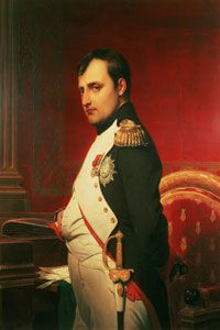 Napoleon Bonaparte, the answer to France's monarchical and Republican woes.