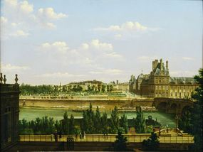 The royal family was moved to the Tuileries Palace. Not too shabby for political prisoners.