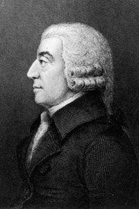 The father of capitalism, 18th-century Scottish political economist Adam Smith