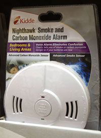 A smoke and carbon monoxide detector is something every home should have.