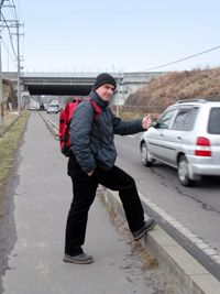 Some freegans train-hop or hitchhike to avoid buying cars and gas.