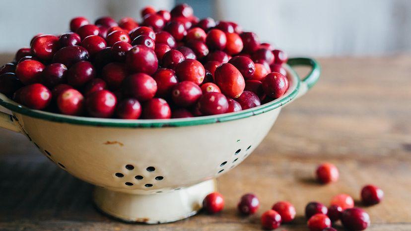 fresh cranberrries