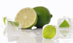 Frozen mint can make your next drink delicious and refreshing, too.