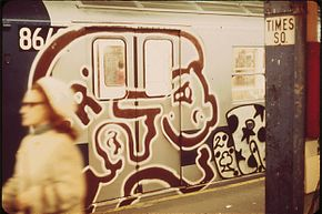 Times Square subway station in 1974 bears witness to what has been a decades-old problem for countless cities.