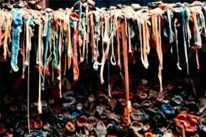 Ew. Just ew. That's all we have to say about this gum wall.