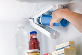 Don't buy bottled water. For a fraction of the cost, you can get clean, filtered water right out of your fridge by simply installing a water filter.