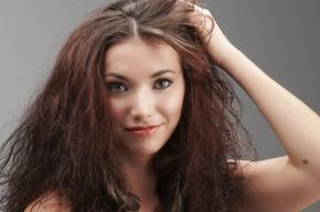 Here's a question: What's wrong with frizzy hair anyway?
