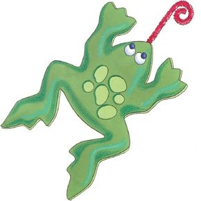 Making a frog craft is a ribbiting good time.