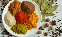 Go bold with flavor using a range of spices.