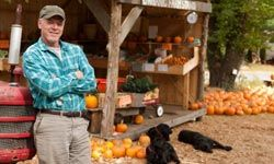 Those farmstand vegetables are good for dogs as well as people. See more dog pictures.