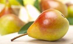 Pears contain pectin to help strengthen intestines.