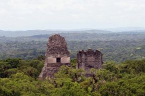 The Temple IV is the tallest structure in the Mayan region.