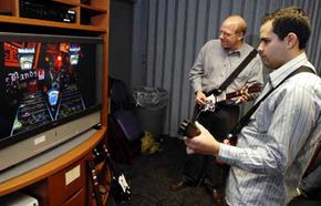 Heromania: Guitar Hero's popularity extends beyond the traditional gamer group to more general audiences.