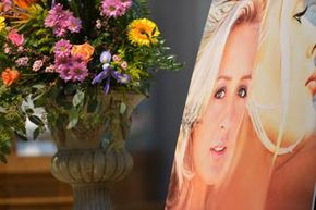 Atmosphere at the memorial service for country singer Mindy McCready in Nashville, Tenn. McCready was found dead from an apparent suicide in early 2013. See more firearms pictures.