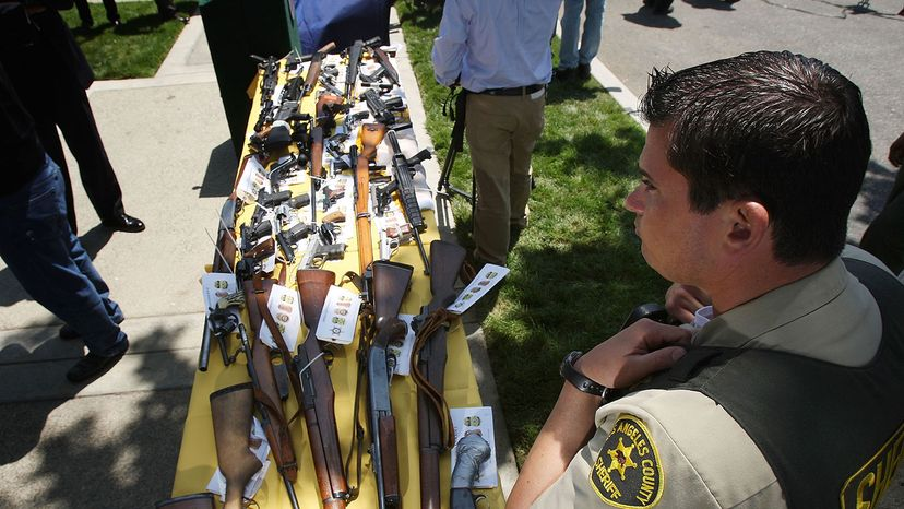 125 weapons confiscated