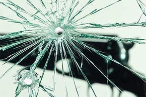 A bullet can cut through glass -- and airplanes.