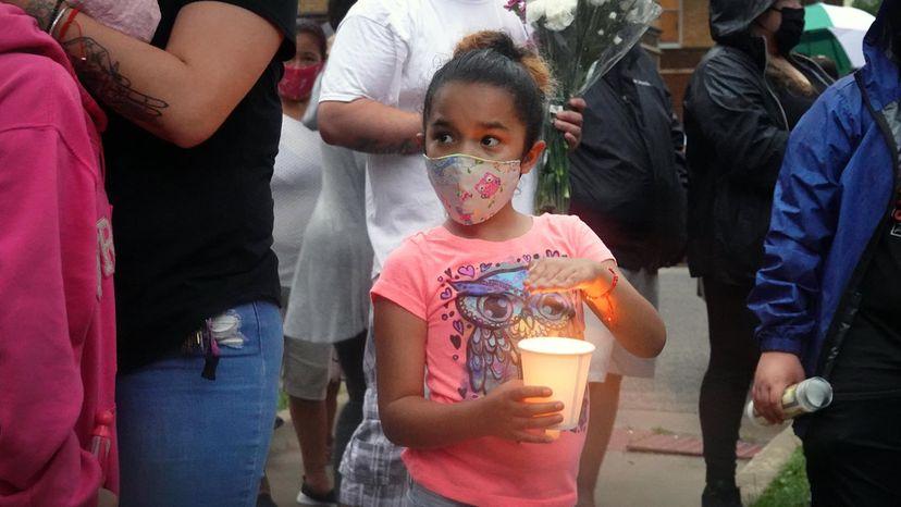 vigil gunshot victim