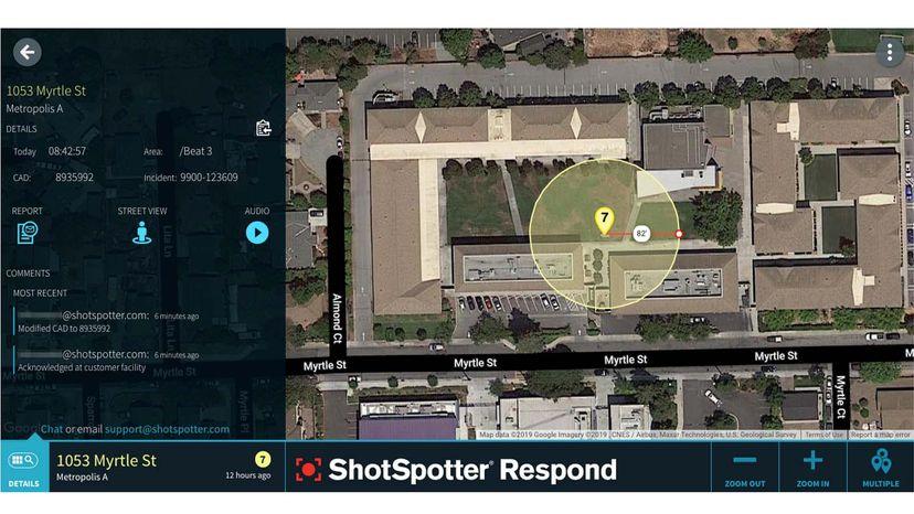 gunshot detection system